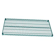 "Global ZG14x60 14""D x 60""W NSF Epoxy Green Shelf"