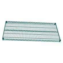 "Global ZG14x30 14""D x 30""W NSF Epoxy Green Shelf"