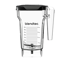 Blendtec 40-609-60 Commercial FourSide Blender Jar with Vented Gripper Lid