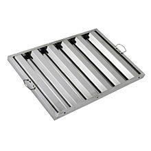 "Global FSS2016 16"" Commercial Stainless Steel Range Hood Grease Filter"