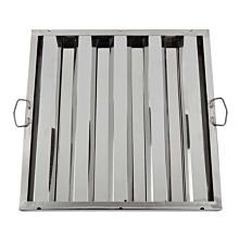 "Global FSS2020 20"" Commercial Stainless Steel Range Hood Grease Filter"
