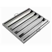 "Global FSS2520 20"" Commercial Stainless Steel Range Hood Grease Filter"