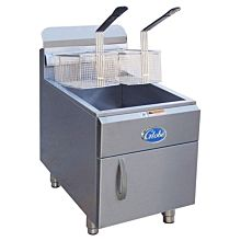 Globe GF30G Gas Countertop 30 lb. Fryer - 53,000 BTU