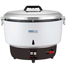 """Prepline GRC110-NG 20"""" Natural Gas Rice Cooker and Warmer 110 Cups Cooked / 55 Cups Uncooked Rice - 14,000 BTU"""