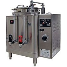 Grindmaster 7413E Single Coffee Urn w/ 3 gal/Liner Capacity, Fresh Water Heat Exchange, 120/208v/1ph