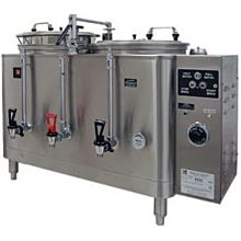 Grindmaster 7773E Twin Coffee Urn w/ 3 gal/Liner Capacity, Automatic, Pump Style, 120/208v/1ph