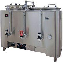 Grindmaster 8106(E) Twin Coffee Urn w/ 6 gal/Liner Capacity, Automatic, Fresh Wate Brewing, 120/208v/1ph