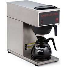 Grindmaster CPO-1P-15A Portable Coffee Brewer w/ (1) Lower Warmer, Pour Over, 120v