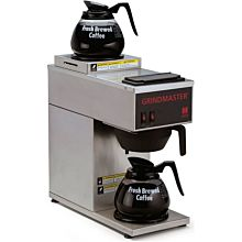 Grindmaster CPO-2P-15A Portable Pourover Coffee Brewer w/ (1) Lower & (1) Upper Warmer, 120v