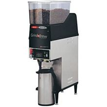 Grindmaster GNB-20H Single Coffee Brewer for Airpot w/ (2) Grinders, 6.5 lb Hopper, Fresh Brew, 120v