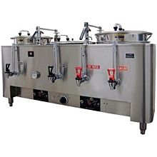 Grindmaster PB-8103E Twin Coffee Urn w/ (2) 3 gal/Liner, Automatic, Fresh Water, 120/208v/1ph