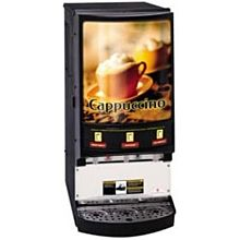 Grindmaster PIC3 3 Flavor Hot Chocolate/Cappuccino Machine w/ (3) 5 lb Hoppers, 120v