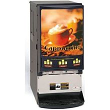 Grindmaster PIC33A 3 Flavor Hot Chocolate/Cappuccino Dispenser w/ (3) 5 lb Hoppers, 120v