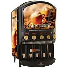 Grindmaster PIC5 5 Flavor Hot Chocolate/Cappuccino Dispenser w/ (5) 5 lb Hoppers, 120v