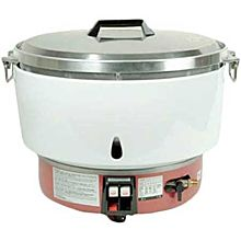 "Thunder Group GSRC005N 100 Cup Cooked (50 Cup Raw) Natural Gas Rice Cooker - 1/2"" NPT - 34,600 BTU"