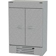 Beverage-Air HBF49-1-HS 52 inch Bottom Mount Horizon Series Two Section Half Door Reach In Freezer with LED Lighting