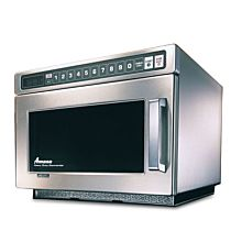 "Amana HDC12A2 17"" Heavy Volume (1200 Watts) Commercial Compact Microwave"