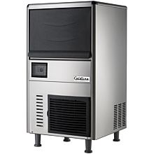 "Coldline ICE280N 26"" 280 lb. Commercial Ice Machine, Air Cooled, Nugget Cube, with 110 lb. Ice Bin"