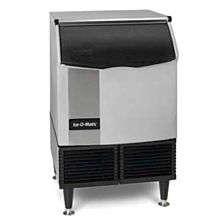 "Ice-O-Matic ICEU150HW 24"" 185lb Half Cube, Water Cooled Ice Maker"