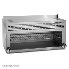 "Imperial ICMA-36 36"" Cheesemelter Infrared Burners Gas Broiler"