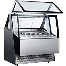 Gelato Ice Cream Display Freezer