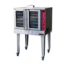 "Ikon IECO 38"" Electric Full-Size Single Deck Convection Oven - 208V"
