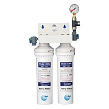 Ice-O-Matic IFQ2 Dual Filter Water Filtration System for Ice Machine, 2400 lb. Capacity, 3.0 GPM