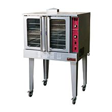 "Ikon IGCO 38"" Gas Full-Size Single Deck Convection Oven - 54,000 BTU"