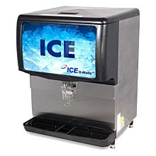 "Ice-O-Matic IOD250 30"" 250 lb. Countertop Push Lever Ice Dispenser Machine"