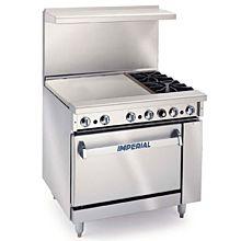 "Imperial IR-2-G24 36"" Stainless Steel Gas Pro Series Range"
