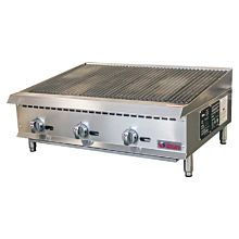 "mperial IRB-36 36"" Gas Countertop Charbroiler"