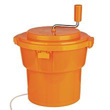Prepline 5 Gallon Orange Salad Spinner, Dryer