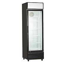 """kool-it kgm-13 23"""" glass door merchandiser refrigerator,  116 cu ft"""