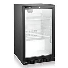 """kool-it kgm-75 78"""" glass door merchandiser refrigerator,  73 cu ft"""