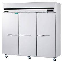 """Kool-It KTSF-3 81"""" Top Mount Triple Door Freezer"""