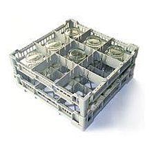 Lamber CC00121 Glass Washer Rack, 9 Capacity