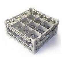 Lamber CC00123 Glass Washer Rack, 16 Capacity