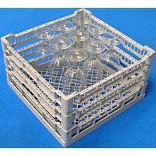 Lamber CC00130 Glass Washer Rack, Open