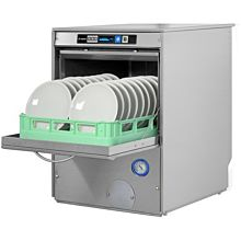 Lamber F92DYDPS 30 Rack/Hr Undercounter Dishwasher, High Temperature Sanitizing w/ Booster & Drain Pump