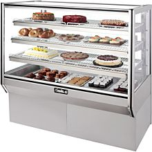 "Leader NHBK48-D 48"" Dry Bakery Display Case"