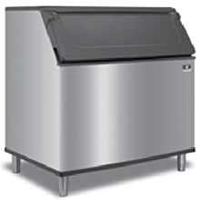 """Manitowoc D970 48"""" 882 lbs. Ice Bin with Side-Hinged Front-Opening Door - 29.7 Cu. Ft."""
