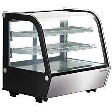 "Marchia MDC121 28"" Refrigerated Countertop Bakery Display Case with LED"