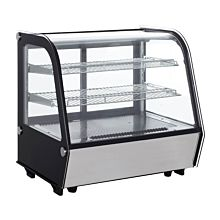 """Marchia MDC121 28"""" Refrigerated Countertop Bakery Display Case with LED"""