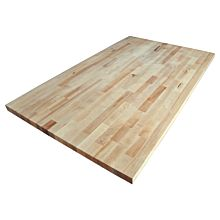 "BK Resources MFT-9630 30""D x 96""L Flat Replacement Top - (1-3/4"" Hard Maple)"