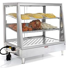 "Custom MHH48 48"" Heated Countertop Food Display Warmer"
