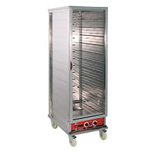 Cookline MPN1836 Full Size Heated Warming Holding Cabinet with Clear Door - 120V