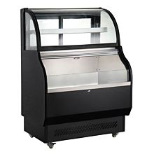 "Marchia MSTAR40 40"" Dual Service Open Air Display Case Merchandiser"