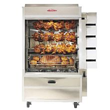 Old Hickory N4G 20 Chicken Commercial Rotisserie Oven Machine, Gas