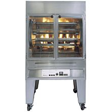 Old Hickory N5.7G 42 Chicken Commercial Rotisserie Oven Machine, Gas