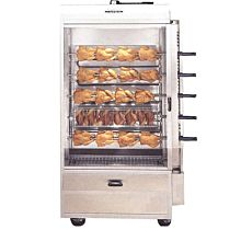 Old Hickory N5G 25 Chicken Commercial Rotisserie Oven Machine, Gas